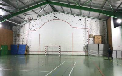 Le collège/lycée Saint Joseph nous prête son mur !